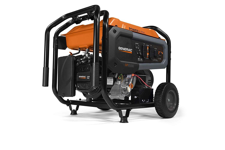 Generac 7682 GP6500E 6500 Watt Portable Generator