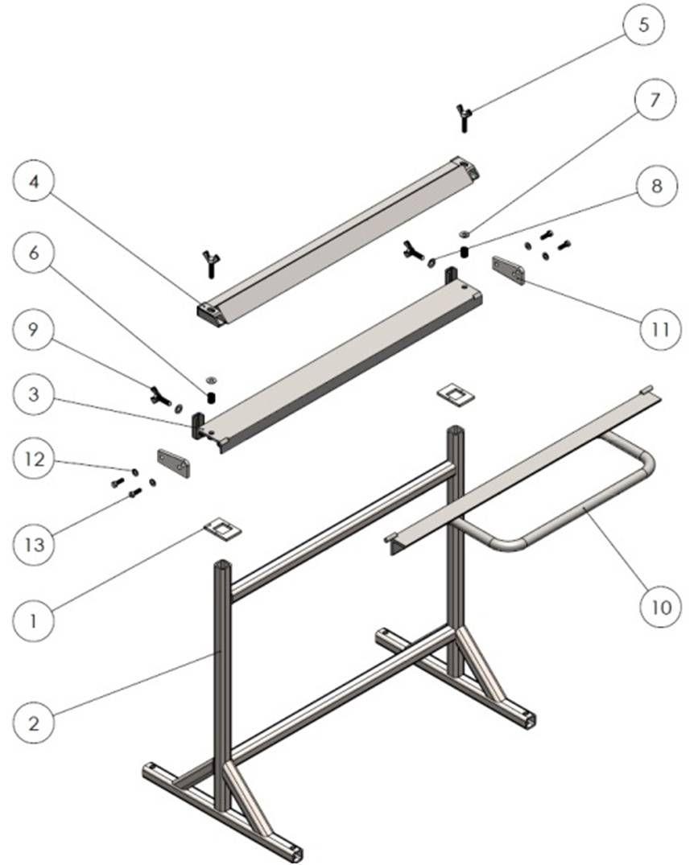 Sheet Metal Brake Assembly Tutorial Sheet Metal Brake Sheet Metal Fabrication Metal Bending Tools