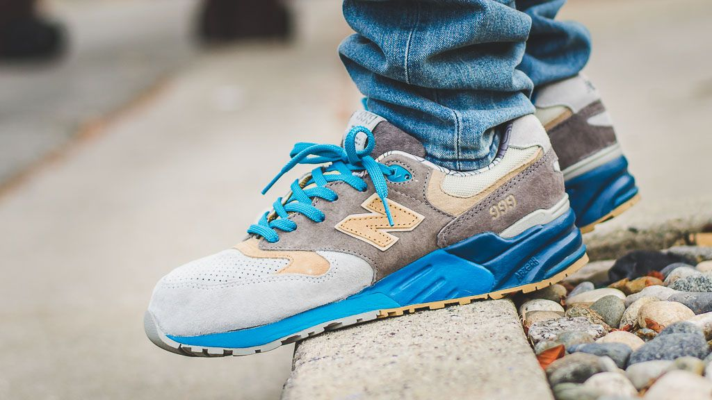 the latest 58550 d9bca New Balance 999 Concepts SEAL ML999COP On Feet Sneaker ...