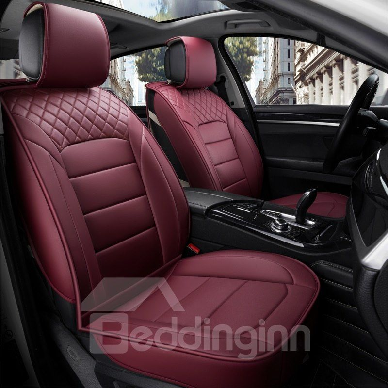 Classic Business Style Leather Cost Effective Single Seat Universal Car Seat Cover Car Seats Car Seat Upholstery Sheepskin Car Seat Covers
