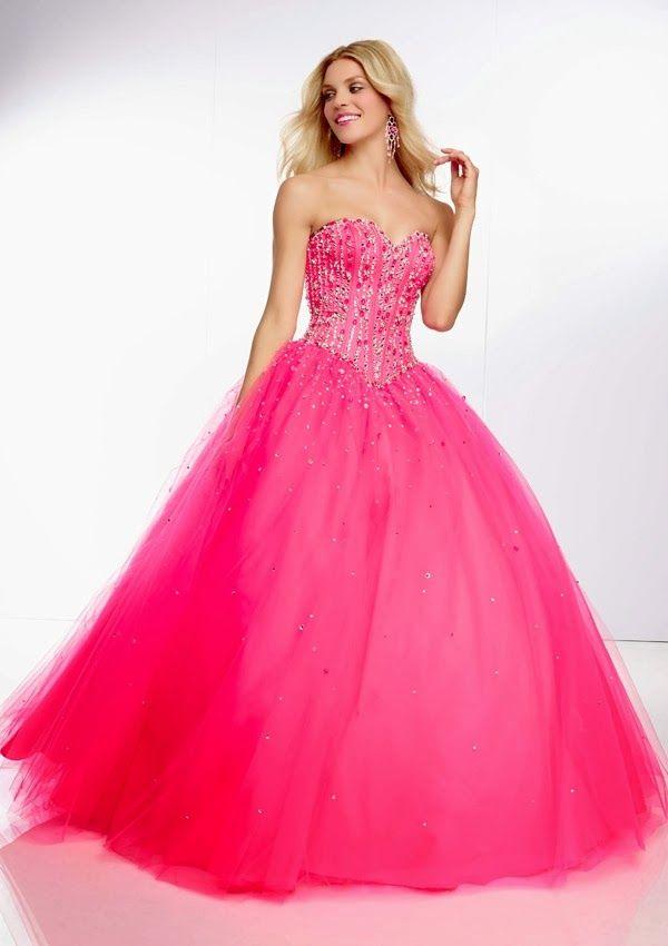 Excelentes vestidos de 15 años estilo princesa | Vestidos ...