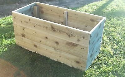 Raised Bed Planter 6x3 Timber