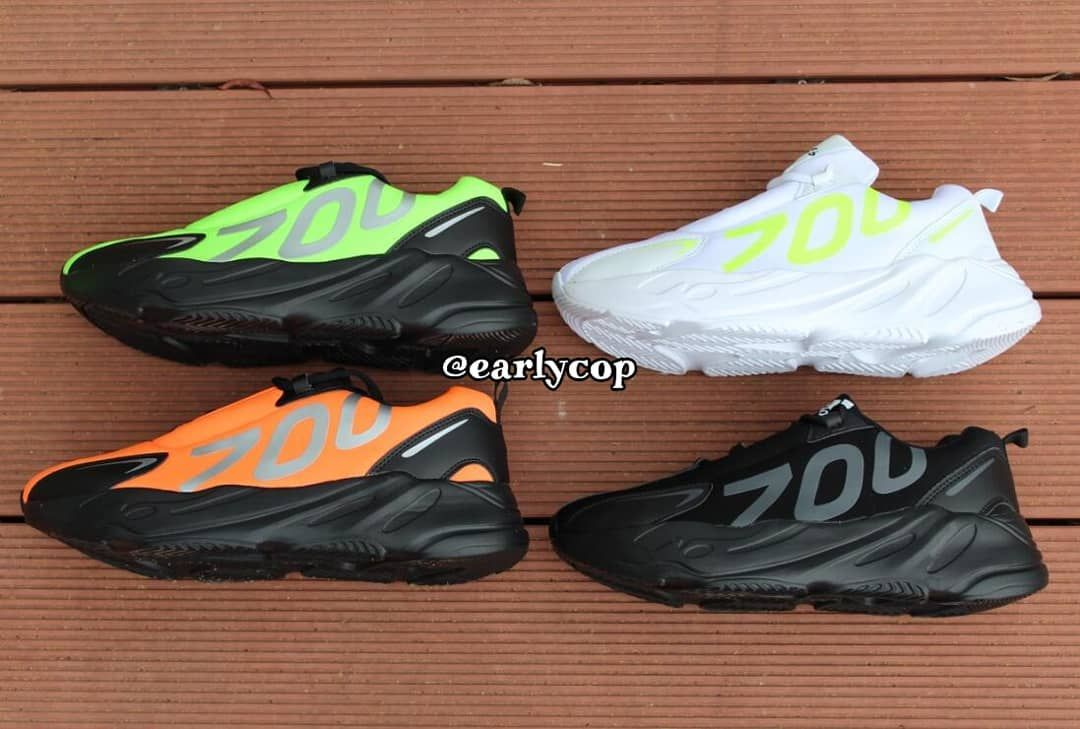 3cd1d9cb The adidas Yeezy Boost 700 VX Surfaces In Four Colourways | Upcoming  Sneaker Releases | The Sole Supplier