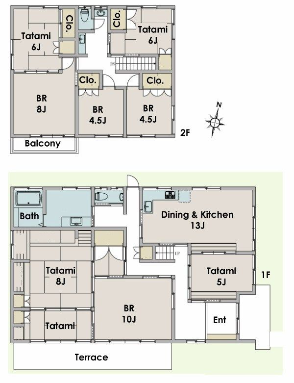 Nice Traditional Japanese House Floor Plan In Fujisawa