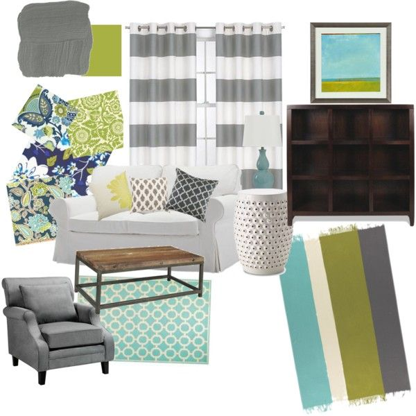 Delightful Teal, Lime, Off White Room Design   Yahoo Image Search Results Part 25