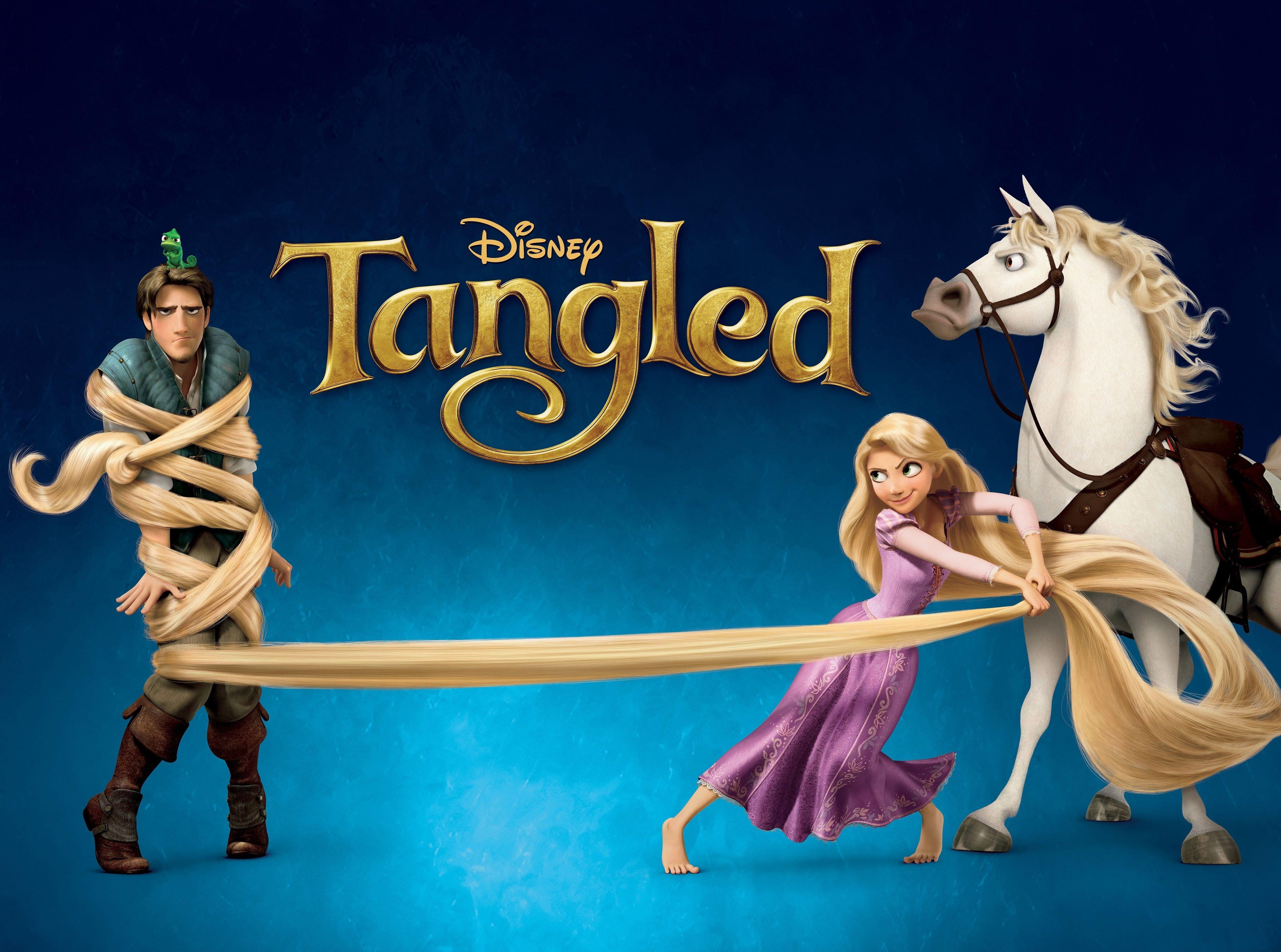 2010 Tangled Rapunzel Flynn Maximus Tangled Movie Poster Cartoons Tangled Tangled Rapunzel Maxi Tangled Movie Disney Tangled Disney Subliminal Messages