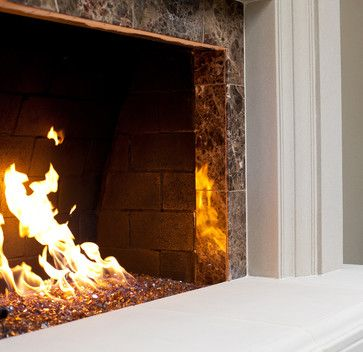 Rancho Bernardo Fireplace Remodel Eclectic Spaces San Diego