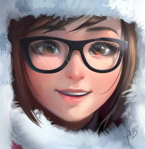 Mei Overwatch Face