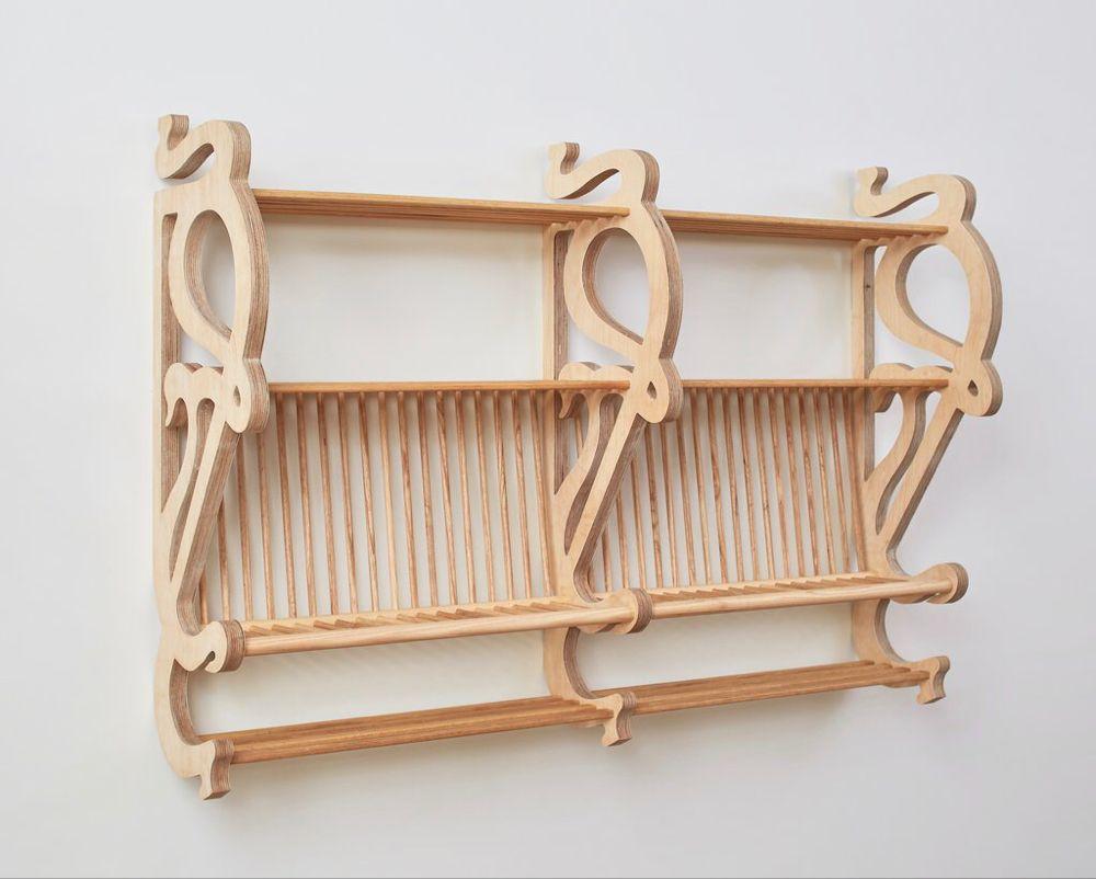 Art Nouveau Plate Rack                      – Cutter Brooks #plateracks