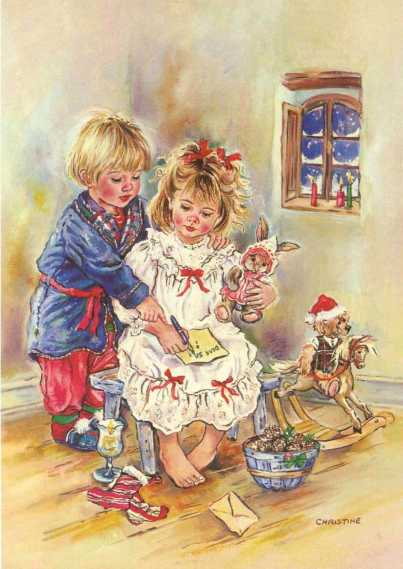 Artist christine haworth confecciona t misma las - Saludos de navidad ...