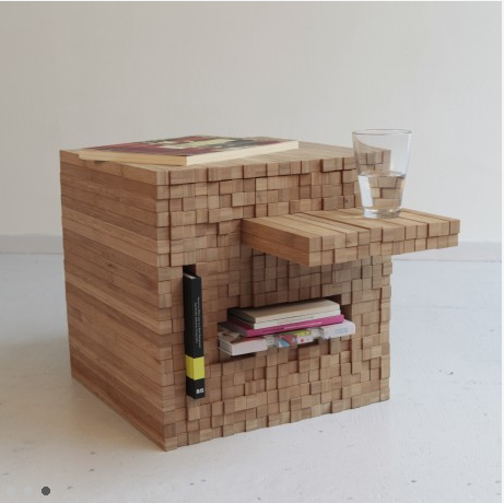 Studio Intussen   Pixel Table