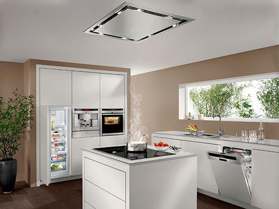 Olv date de los malos humos elige una buena campana extractora kitchens laundry and interiors - Extractores de humo cocina ...
