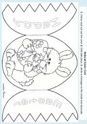 photograph about Printable Easter Cards to Color referred to as Pin upon Easter Crafts