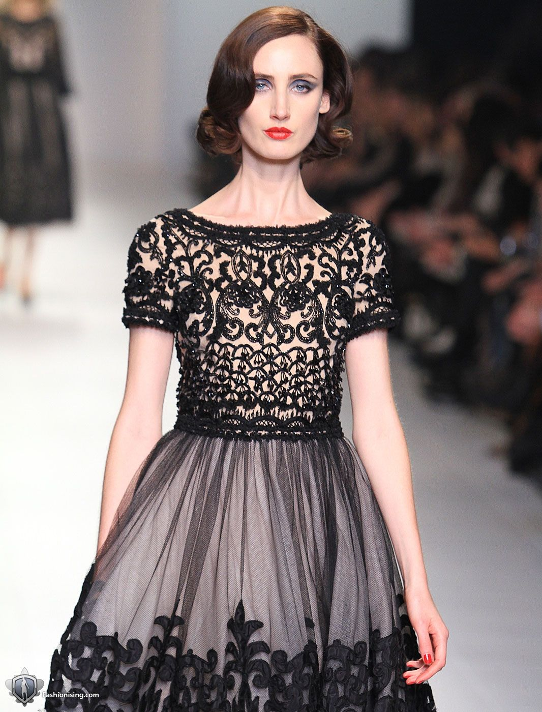 old hollywood glamor with a gothic twist