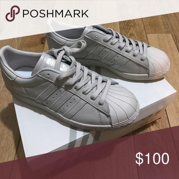 adidas superstar pearl grey