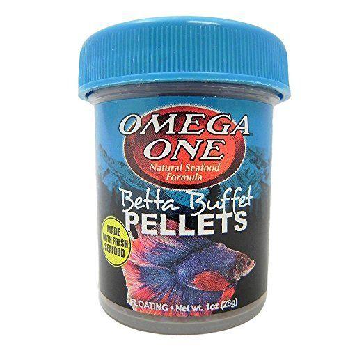 Use Omega One Betta Buffet Pellets Betta Food Betta Food Betta Food