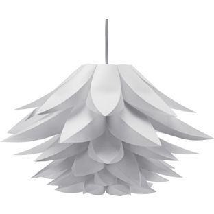 Buy lotus shade white at argos visit argos to shop buy lotus shade white at argos visit argos aloadofball Images