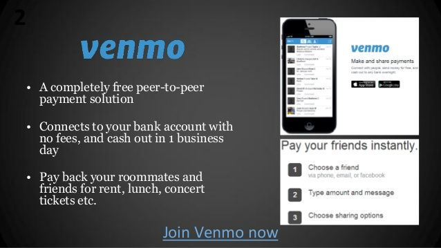 Venmo Is A Completely Free P2p Payments Network Financial Apps Money Management Managing Your Money