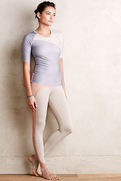0c01e2fa40ed67 Adidas by Stella McCartney Perforated Studio Tights #anthrofave ...
