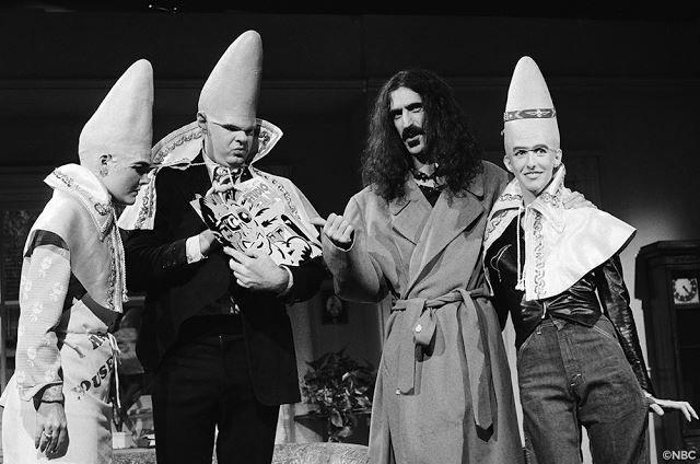 Coneheads And Frank Zappa In 2019 Frank Zappa Zappa