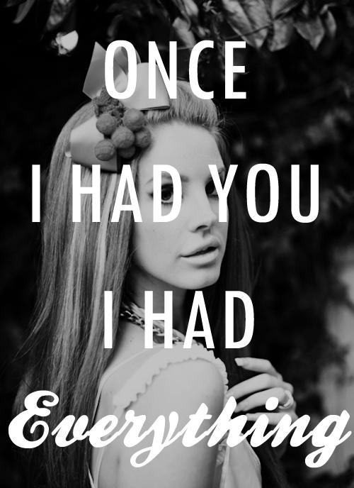 Dark Paradise Lana Del Rey Quotes // dark paradise // | ...