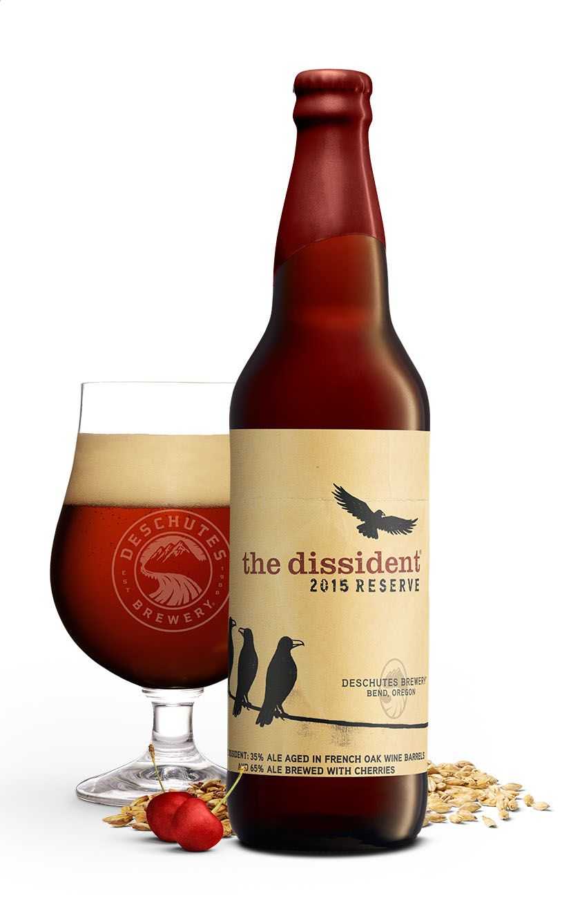 Drink Of The Week Deschutes The Dissident Imbibe Magazine Deschutes Brewery Best Beer Beer Design