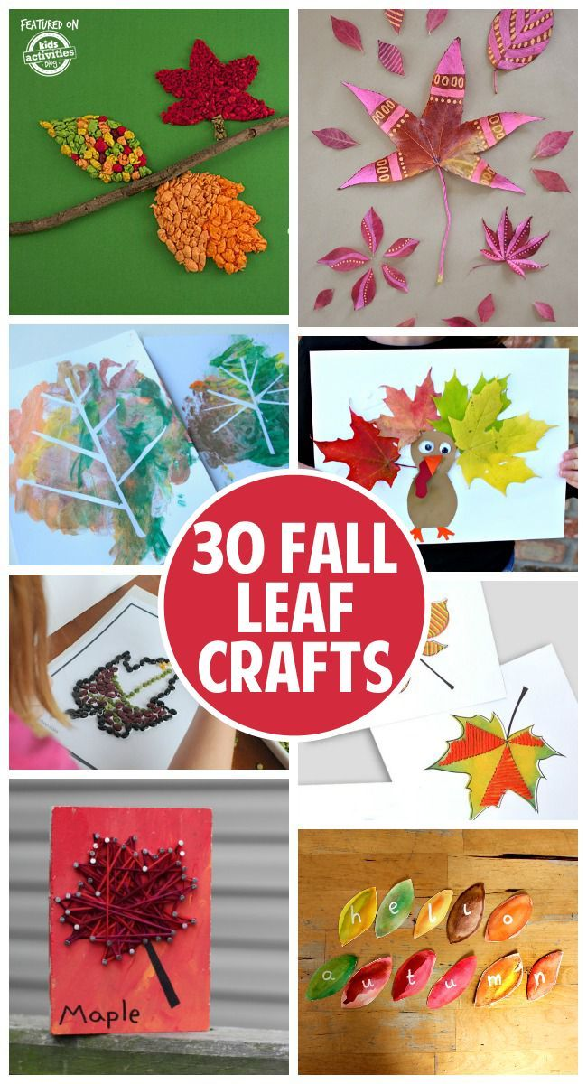 30++ Fall arts and crafts with leaves info