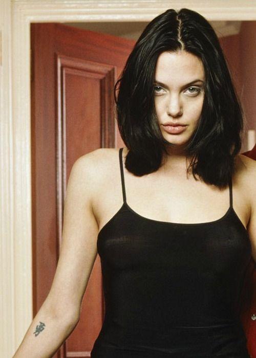 Angelina Jolie Photographed By Sven Arnstein 1997 Angelina