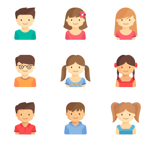 Choose Among 32 718 Packs Of Free Vector Icons Kids Icon Vector