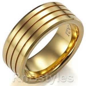 Man Ring Mens Wedding Rings Gold Mens Gold Rings Mens Gold Wedding Band