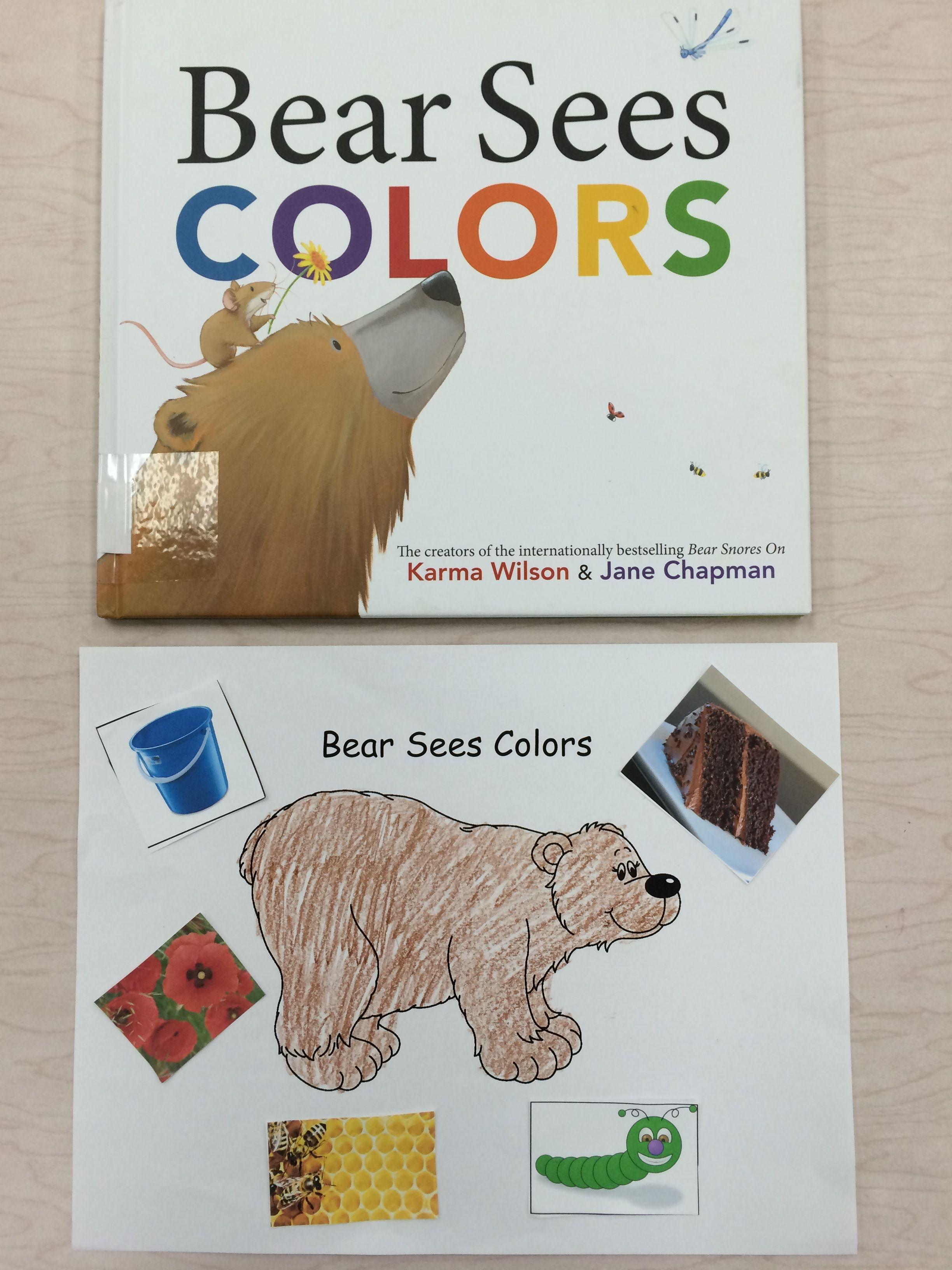 Color Activity For Bear Sees Colors Preschool Color Activities Color Activities Preschool Colors [ 3264 x 2448 Pixel ]