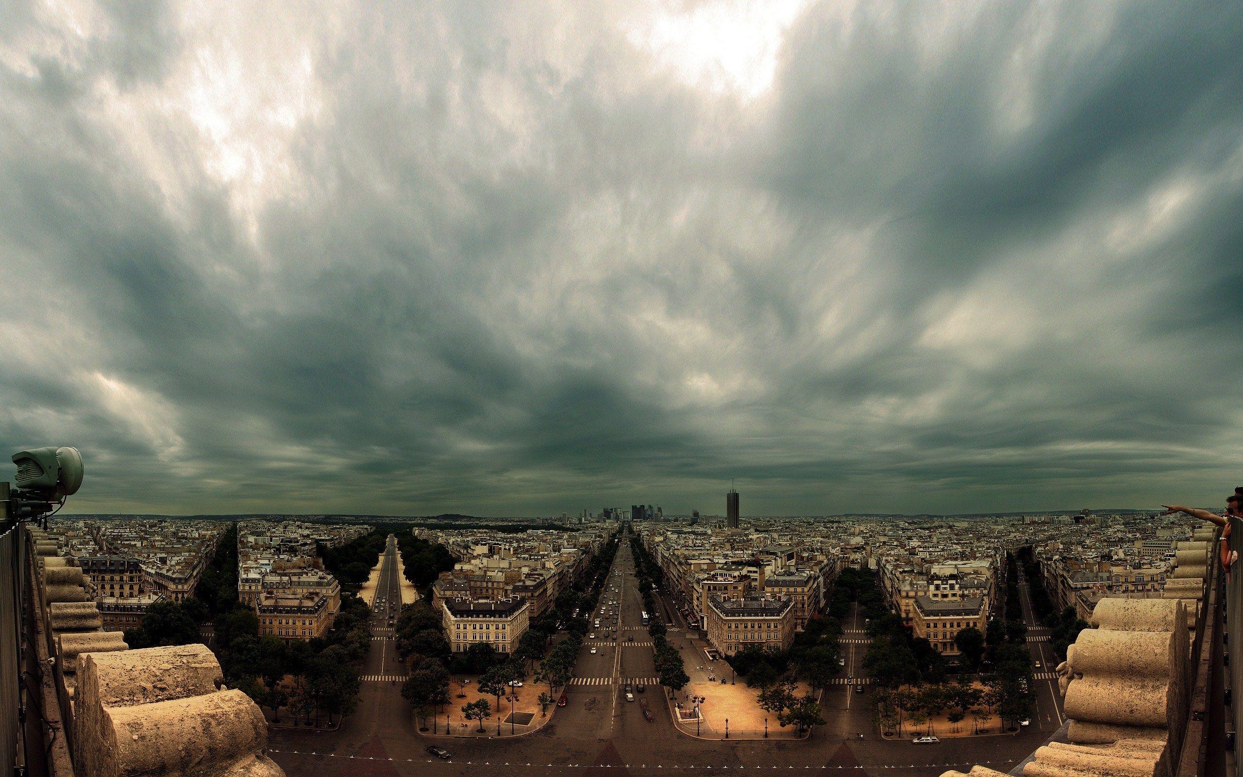 Panorama of paris at cloudy day panoramas pinterest paris panorama of paris at cloudy day thecheapjerseys Image collections