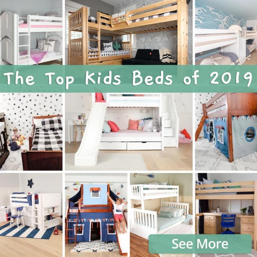 Top Kids Beds Best Bunk Beds, Slide Beds, Girls Beds