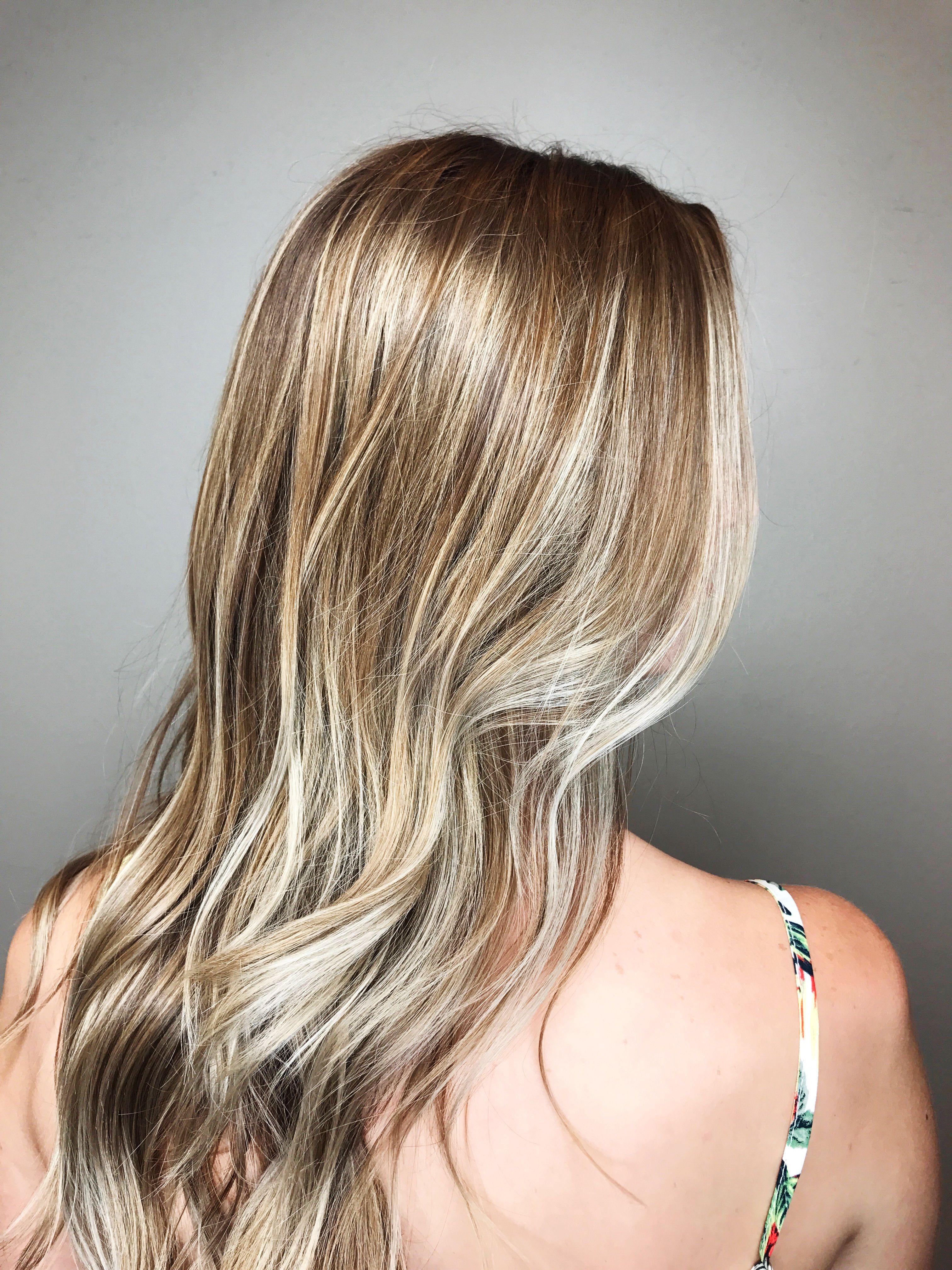 ash blonde by lauren mckeel at 140 salon in durham, nc