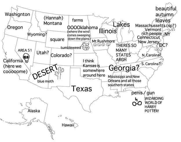 We Asked Australians To Label The United States And We're