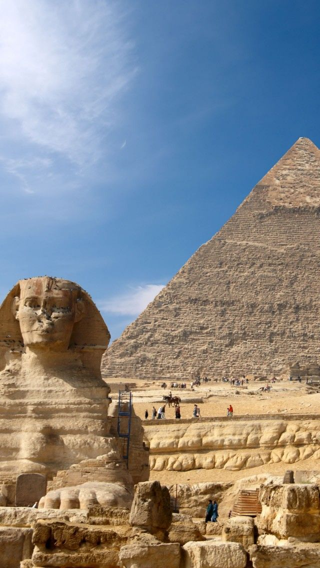 Giza Egypt Tourist Destinations Hintergrundbilder Iphone