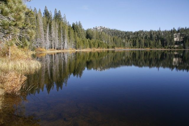 Lake Tahoe Nv Spooner Backcountry State Park Hiking
