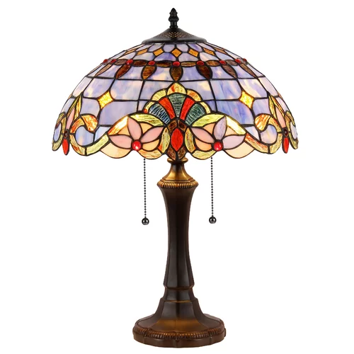Laurie 24 Table Lamp Victorian Table Lamps Table Lamp Stained Glass Table Lamps