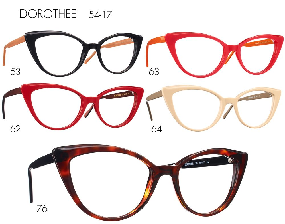 27e8e9c8ba46 Caroline Abram DOROTHEE #ojooptique Four Eyes, Cat Eye Glasses, Big Eyes,  Specs