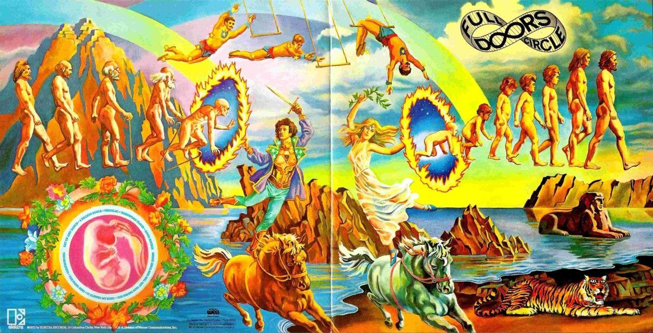 Full Circle By The Doors Cover Art Shaman History Rocks