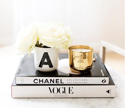 Chanel Buch Deko