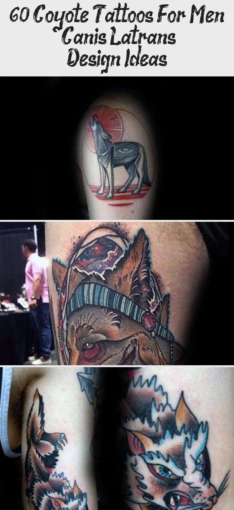 60 Coyote Tattoos For Men  Canis Latrans Design Ideas  Best Tattoos  60 Coyote Tattoos For Men  Canis Latrans Design Ideas