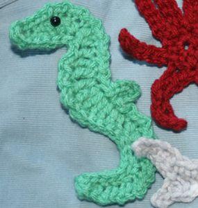 Crochet Seahorse 2