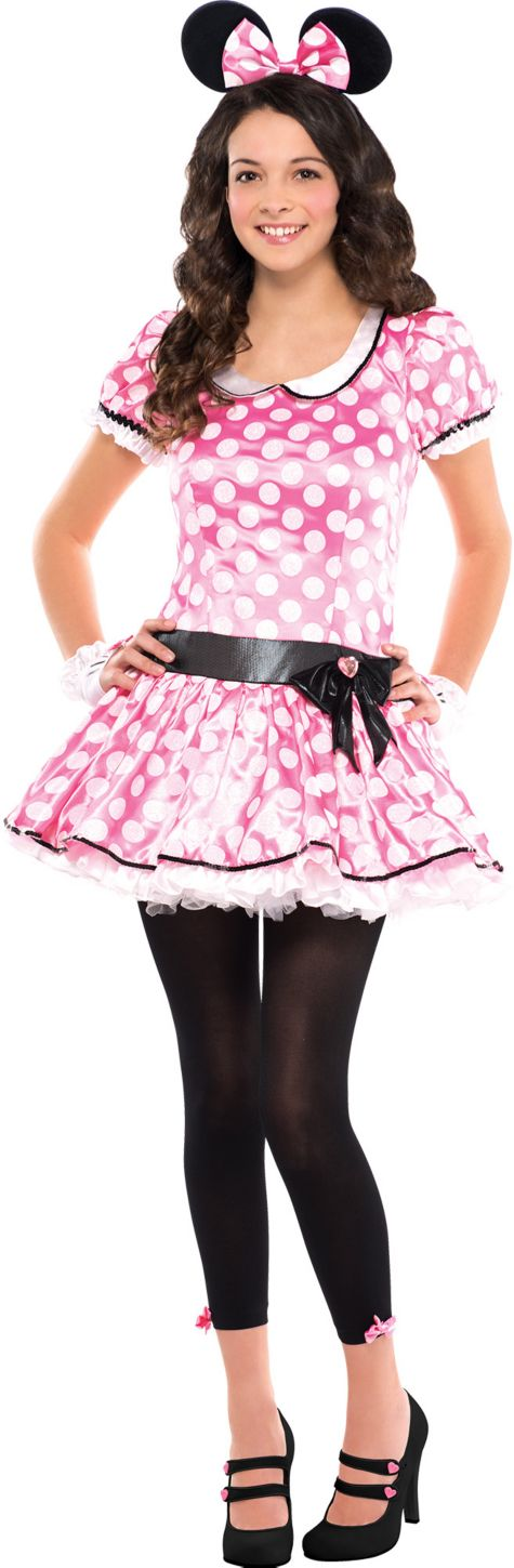 Teen Girls Minnie Mouse Costume - Party City  sc 1 st  Pinterest & Teen Girls Minnie Mouse Costume - Party City   Peter Pan   Pinterest ...