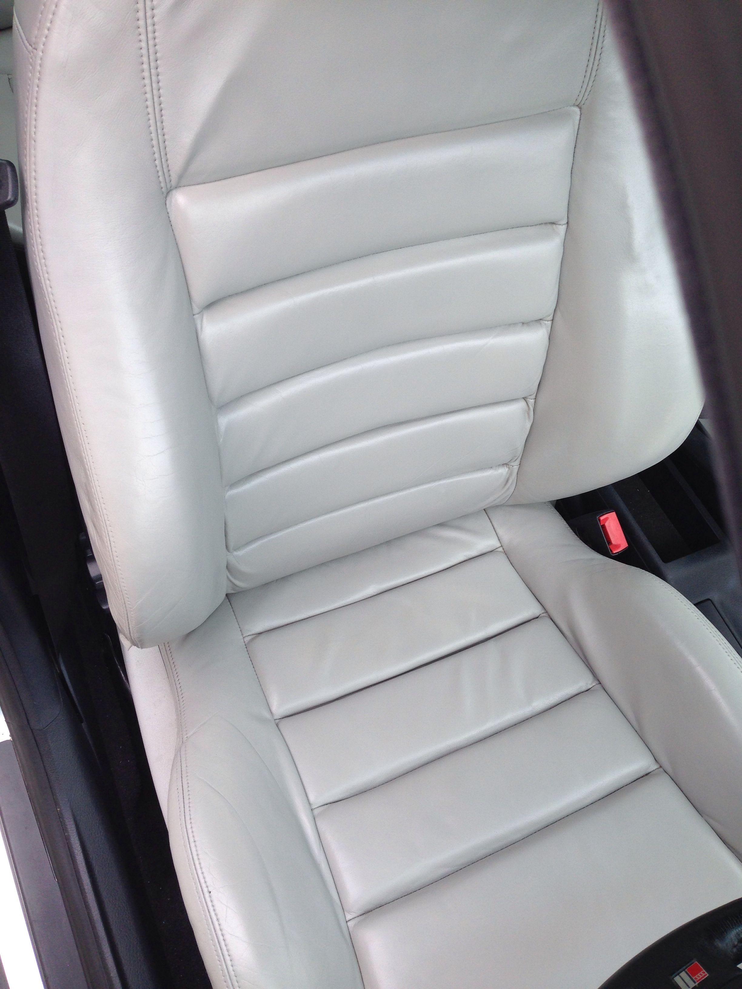 Excellent Audi B5 S4 Leather Seat After Restoration Car Seats Spiritservingveterans Wood Chair Design Ideas Spiritservingveteransorg