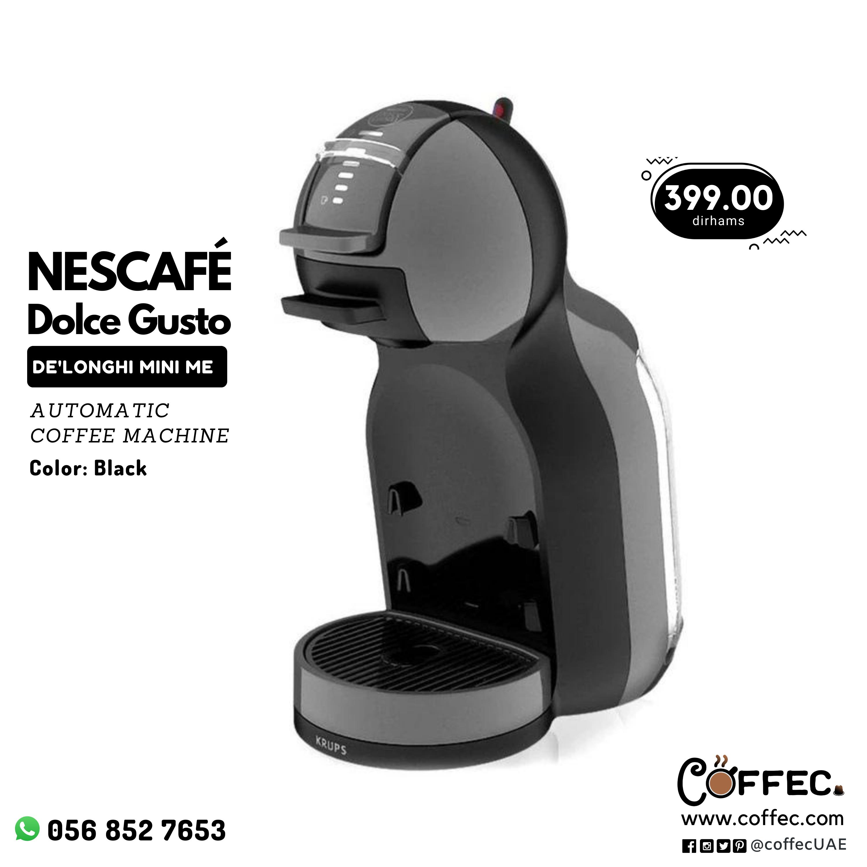 Nescafe Dolcegusto By De Longhi Mini Me Automatic Coffeemachine Black Automatic Coffee Machine Dolce Gusto Capsule Coffee Machine