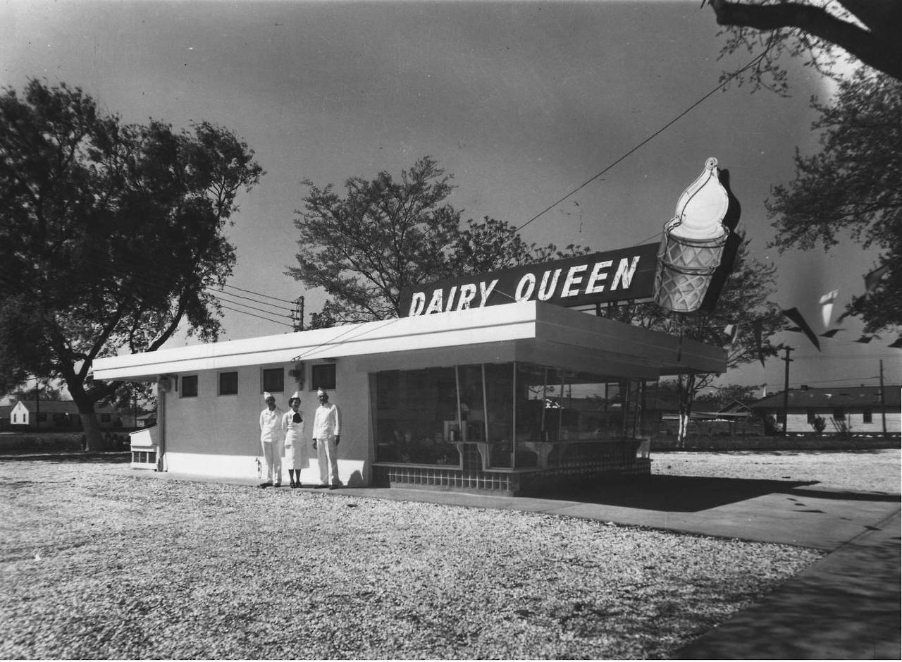 Vintagenola Dairy Queen In New Orleans 1960s Vintage Hotels