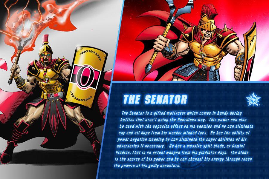 The Senator Bio NHL Guardians Nhl, Ice hockey