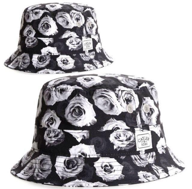 928b3b37c52 Cayler   Sons White Roses Bucket Hat