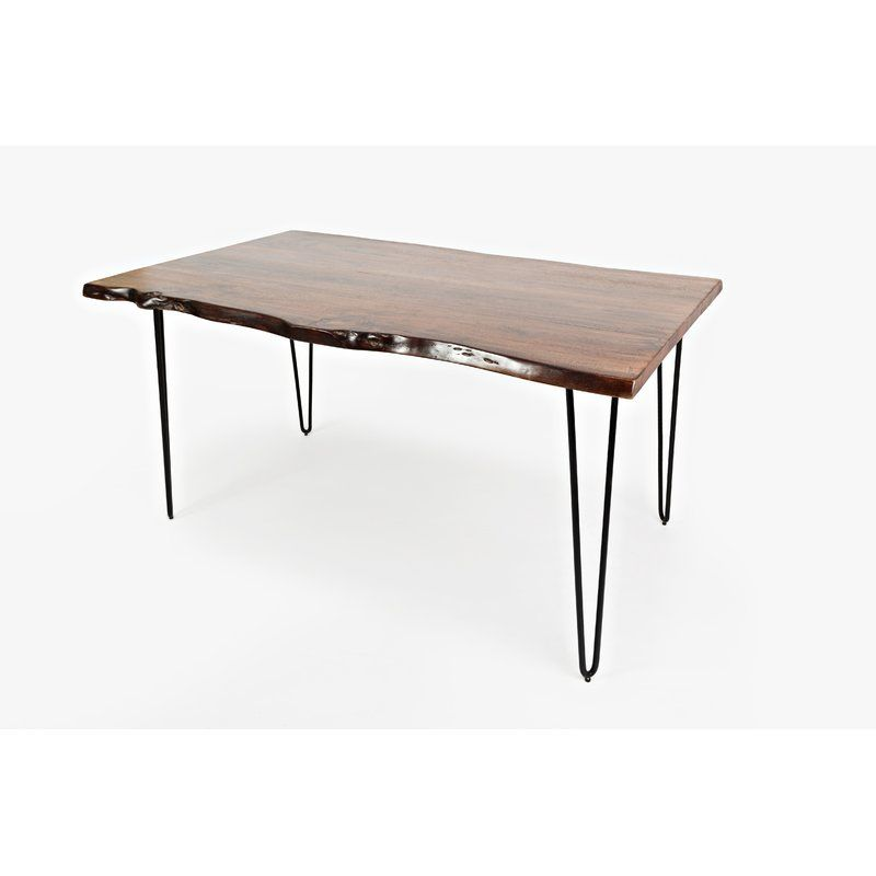 Lolotoe Counter Height Acacia Solid Wood Dining Table Solid Wood